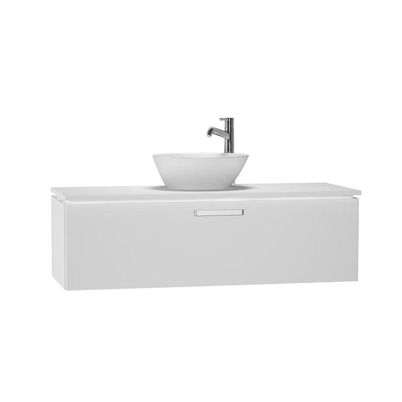 Vitra System Fit Lavabo Dolabı (Derin), 120 cm (Orta), Parlak Beyaz, Yuvarlak Hatlı Kulp - 53697 asma termoform kaplama kulplu yavaş kapanır çekmeceli vitra'nın tasarım ve teknoloji gücü banyo mobilyalarında sonsuz seçenek yaratıyor en uygun fiyatlarla Banyomoda'dan online satın alabilirsiniz.