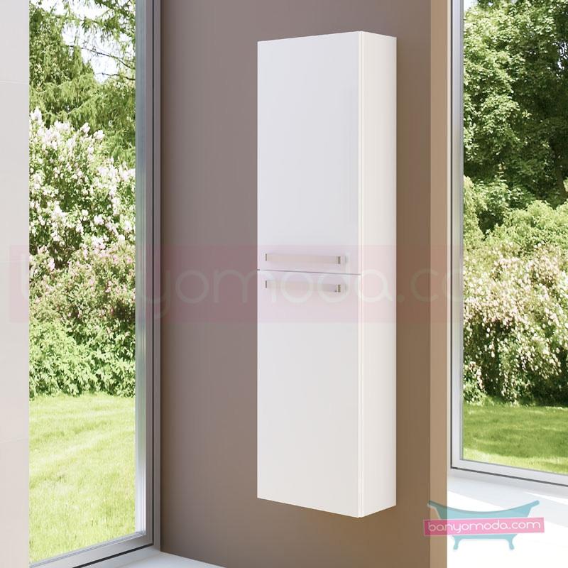 Vitra System Fit Sığ Boy Dolap (Sol), 40 cm, Parlak Beyaz, Yuvarlak Hatlı Kulp - 54046 asma termoform kaplama kulplu yavaş kapanır vitra'nın tasarım ve teknoloji gücü banyo mobilyalarında sonsuz seçenek yaratıyor en uygun fiyatlarla Banyomoda'dan online satın alabilirsiniz.