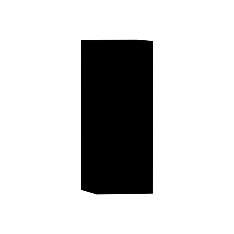 Vitra Üst Dolap (Sağ) (Dar), Parlak Siyah 54310 Üst Dolap