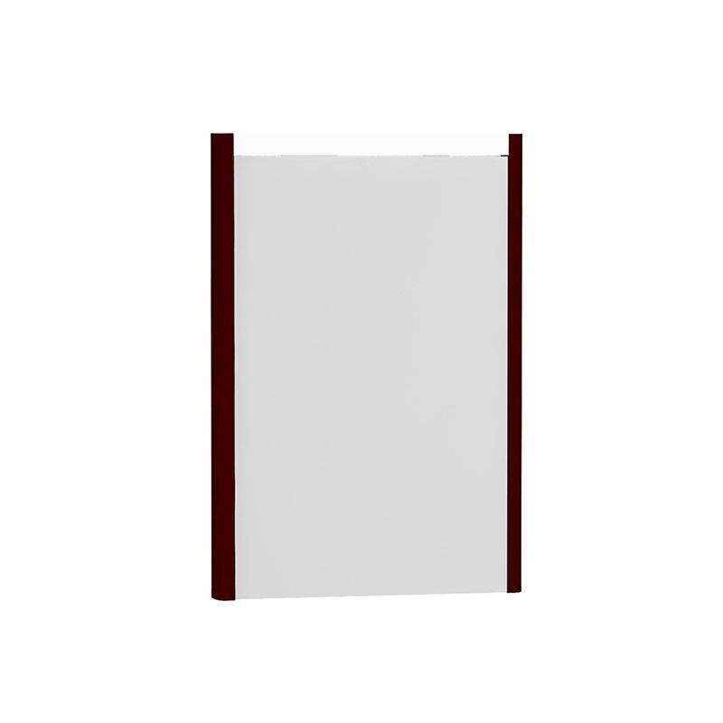 Vitra T4 Aydınlatmalı Ayna, 50 cm, Mat Bordo - 54631 lake kaplama sade ve ince görüntsünüyle banyonuza değer katan Noa tasarımlı mobilya en uygun fiyatlarla Banyomoda'dan online satın alabilirsiniz.