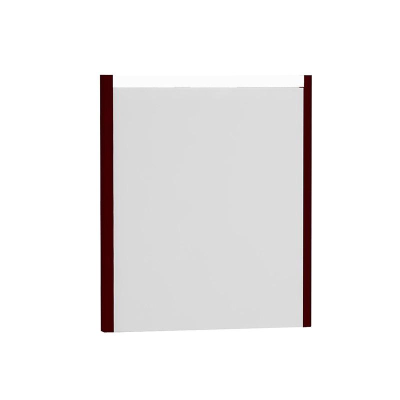 Vitra T4 Aydınlatmalı Ayna, 60 cm, Mat Bordo - 54637 lake kaplama yavaş kapanır kulpsuz çekmeceli sade ve ince görüntsünüyle banyonuza değer katan Noa tasarımlı mobilya en uygun fiyatlarla Banyomoda'dan online satın alabilirsiniz.