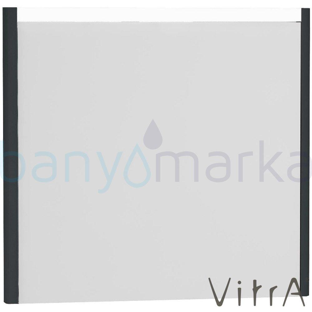 Vitra T4 Aydınlatmalı Ayna, 80 cm, Mat Gri 54648 Ayna / Dolaplı Ayna
