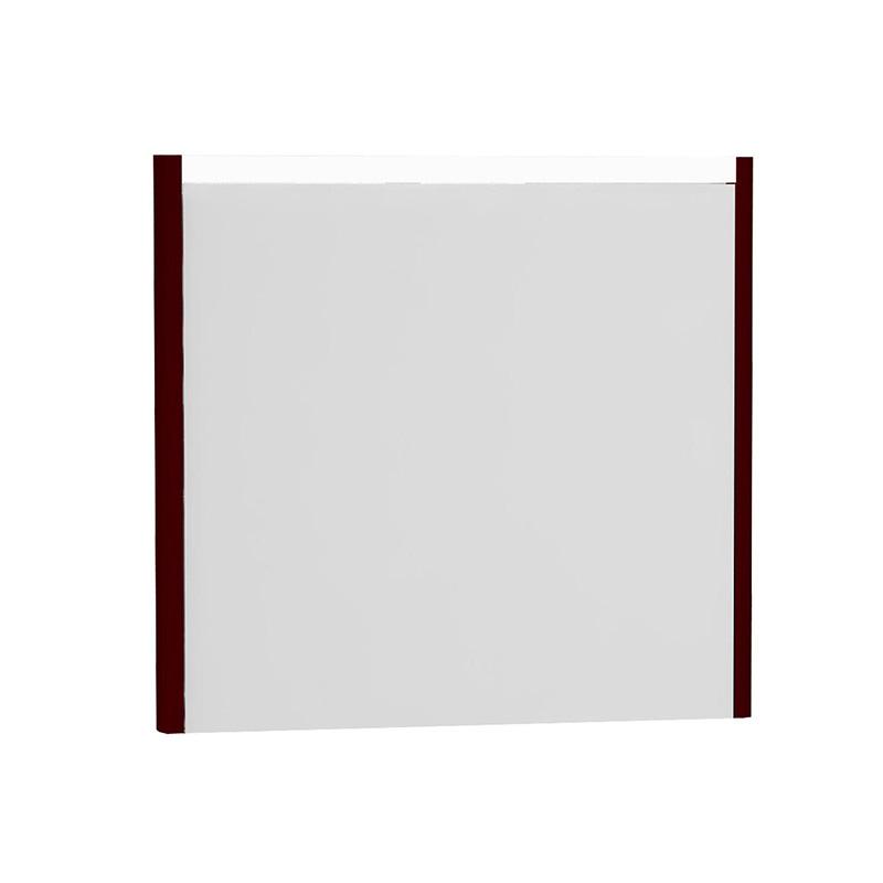 Vitra T4 Aydınlatmalı Ayna, 80 cm, Mat Bordo 54649 Ayna / Dolaplı Ayna