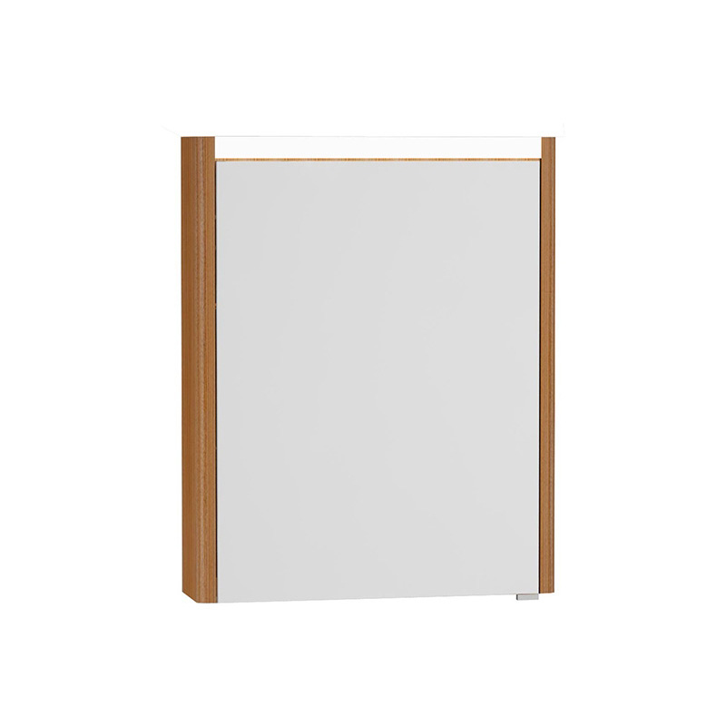 Vitra T4 Aydınlatmalı Dolaplı Ayna (Sol), 60 cm, Hasiente Kahve 54669 Ayna / Dolaplı Ayna