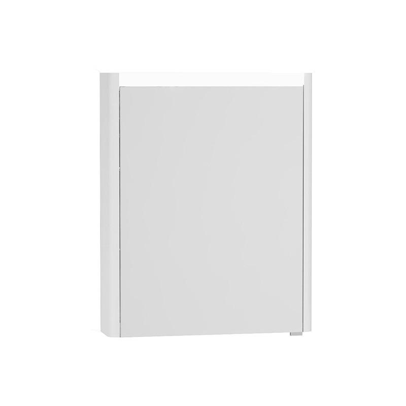 Vitra T4 Aydınlatmalı Dolaplı Ayna (Sol), 60 cm, Mat Beyaz - 54671 asma lake kaplama yavaş kapanır sade ve ince görüntsünüyle banyonuza değer katan Noa tasarımlı mobilya en uygun fiyatlarla Banyomoda'dan online satın alabilirsiniz.