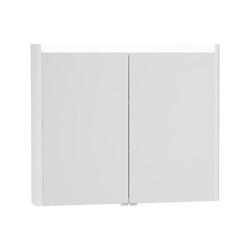 Vitra T4 Aydınlatmalı Dolaplı Ayna, 90 cm, Parlak Beyaz 54686 Ayna / Dolaplı Ayna