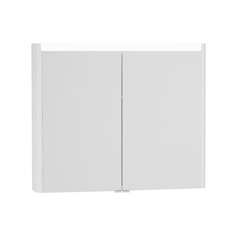 Vitra T4 Aydınlatmalı Dolaplı Ayna, 90 cm, Mat Beyaz 54689 Ayna / Dolaplı Ayna