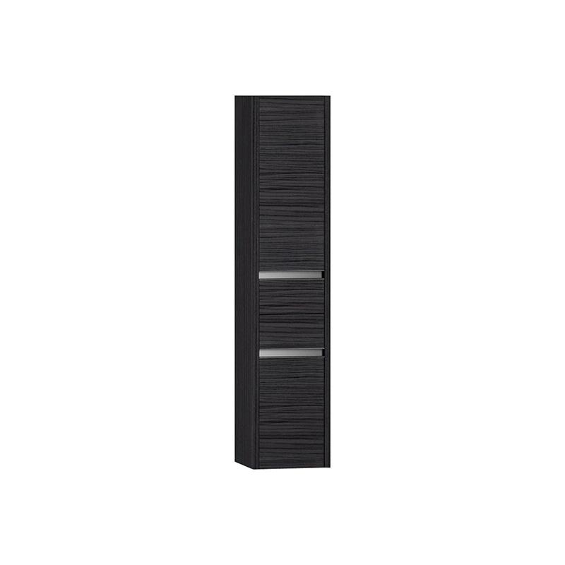 Vitra T4 Boy Dolabı (Sol), Hasiente Siyah - 54720 asma termoform kaplama yavaş kapanır yavaş kapanır çekmeceli sade ve ince görüntsünüyle banyonuza değer katan Noa tasarımlı mobilya en uygun fiyatlarla Banyomoda'dan online satın alabilirsiniz.