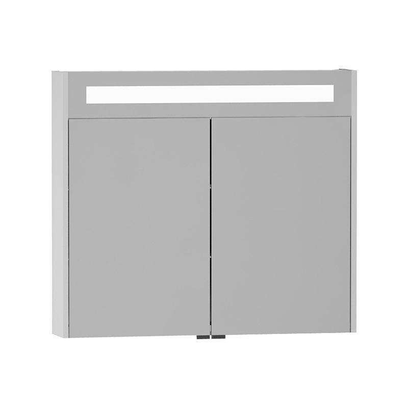 Vitra S50+ Aydınlatmalı Dolaplı Ayna, Parlak Beyaz 54758 Ayna / Dolaplı Ayna