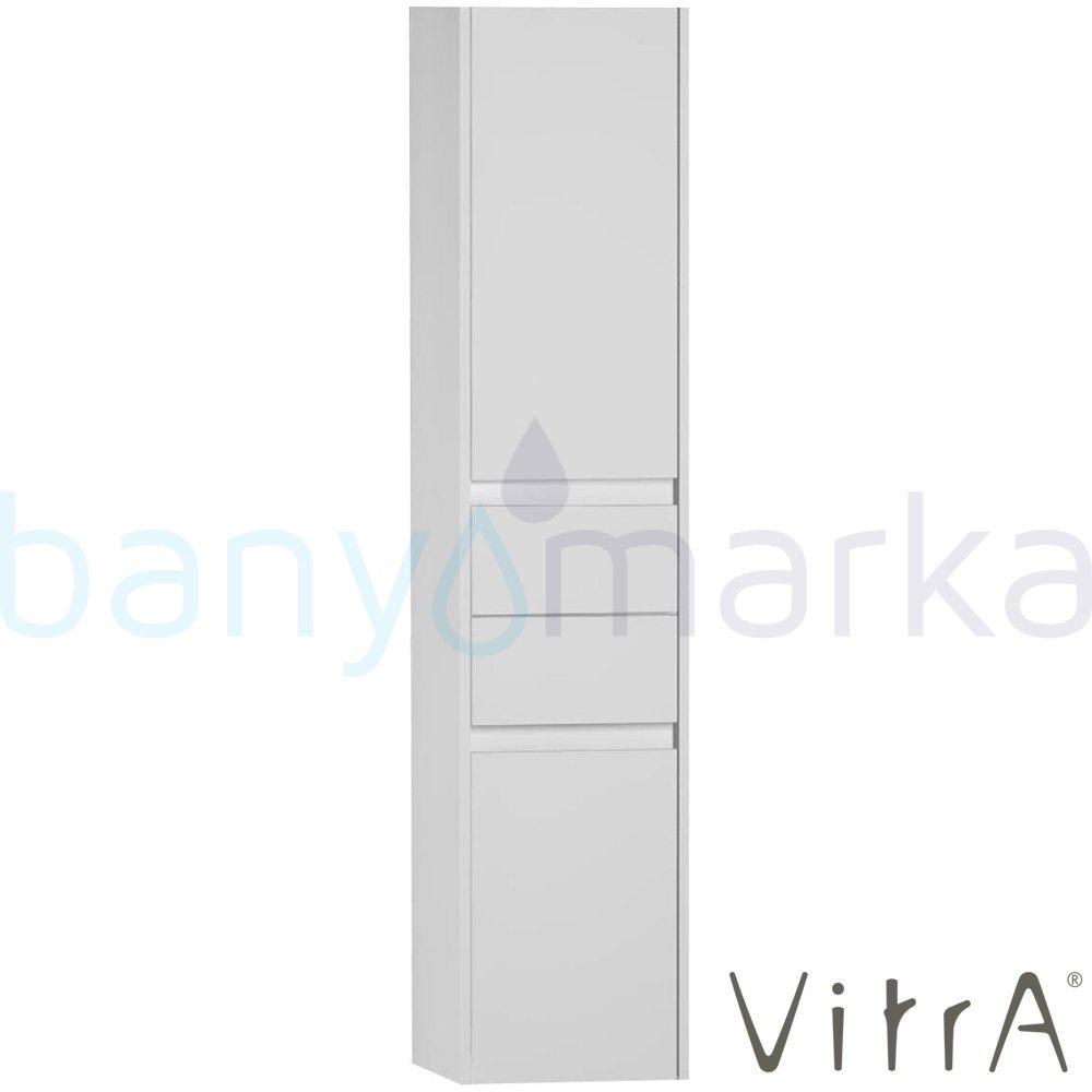 Vitra S50+ Boy Dolabı (Sol), Parlak Beyaz 54774 Boy Dolabı