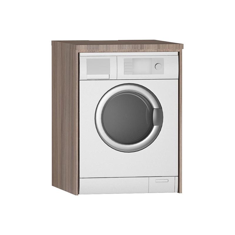 Vitra Çamaşır Makinesi Paneli, Gri Meşe 54831 Çamaşır Makinesi Dolabı