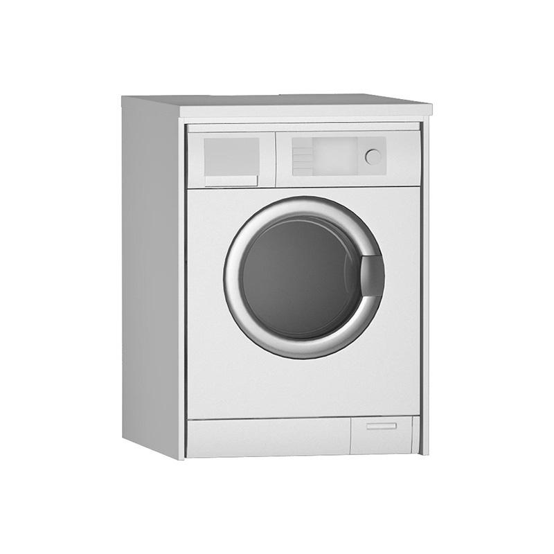 Vitra Çamaşır Makinesi Paneli U-Oyuklu, Mat Beyaz 54846 Çamaşır Makinesi Dolabı