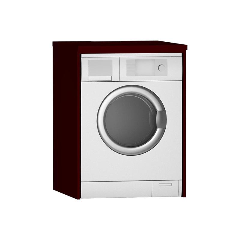 Vitra Çamaşır Makinesi Paneli U-Oyuklu, Mat Bordo 54848 Çamaşır Makinesi Dolabı
