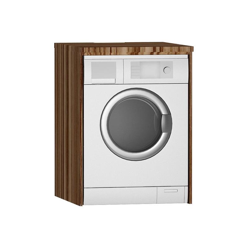 Vitra Çamaşır Makinesi Paneli U-Oyuklu, Zebrano 54851 Çamaşır Makinesi Dolabı