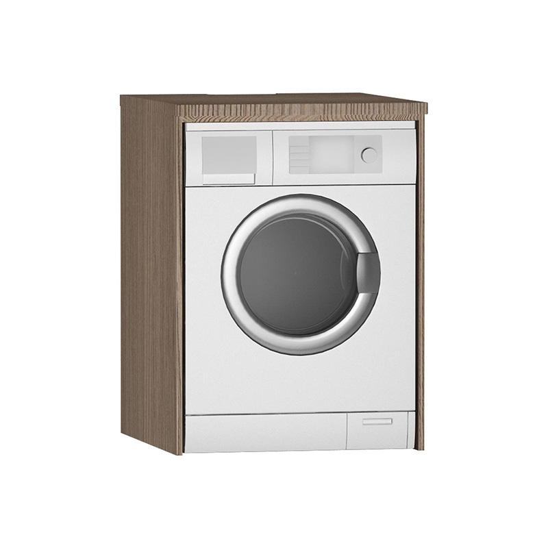 Vitra Çamaşır Makinesi Paneli U-Oyuklu, Dağ Dokusu 54852 Çamaşır Makinesi Dolabı