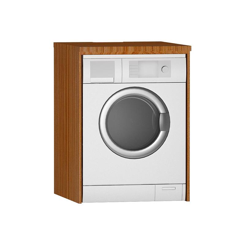 Vitra Çamaşır Makinesi Paneli U-Oyuklu, Hasiente Brown 54855 Çamaşır Makinesi Dolabı