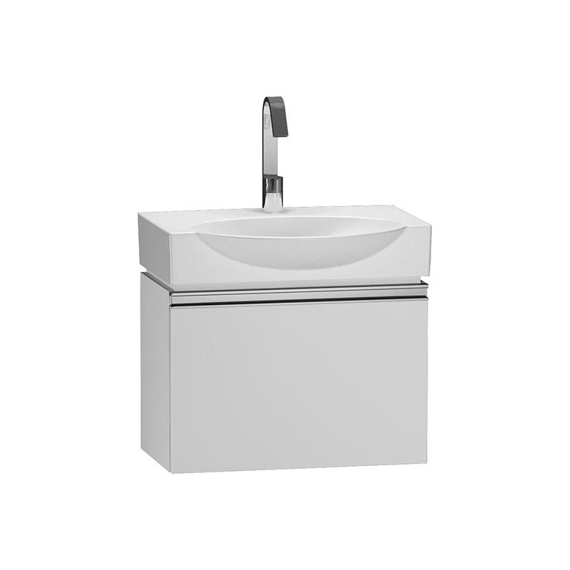 Vitra Espace Lavabo Dolabı, 65 cm, Parlak Beyaz (Lavabo Dahil) 54910 Lavabo Dolabı