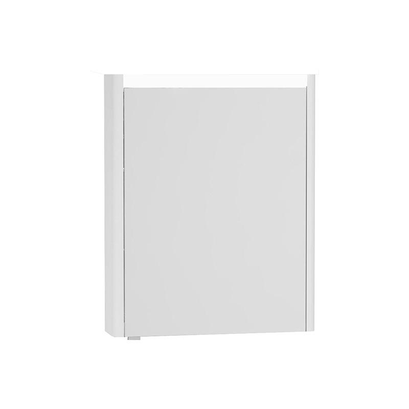 Vitra T4 Aydınlatmalı Dolaplı Ayna (Sağ), 60 cm, Mat Beyaz - 54956 asma lake kaplama yavaş kapanır sade ve ince görüntsünüyle banyonuza değer katan Noa tasarımlı mobilya en uygun fiyatlarla Banyomoda'dan online satın alabilirsiniz.