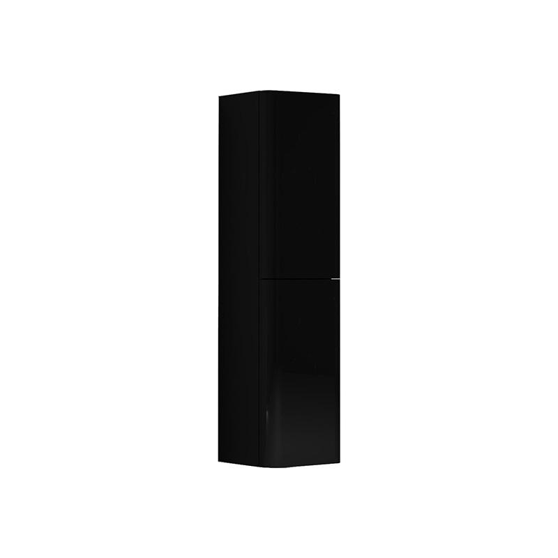 Vitra Gala Boy Dolabı (Sol), Parlak Siyah-Krom 55324 Boy Dolabı