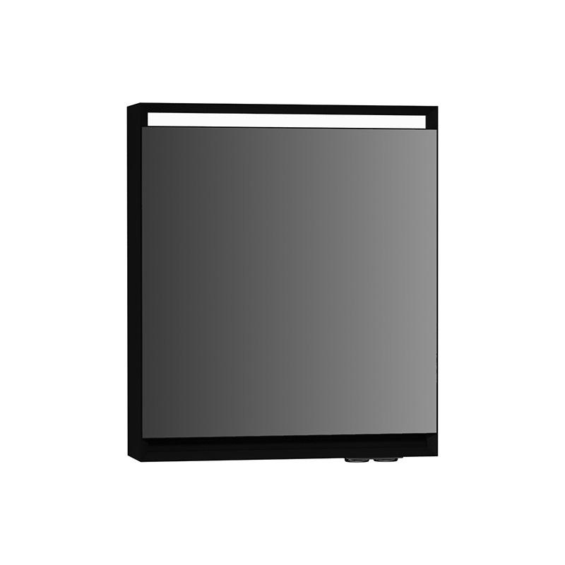 Vitra Options Lux Dolaplı Ayna, 60 cm (Sol) Parlak Siyah 55038 Ayna / Dolaplı Ayna