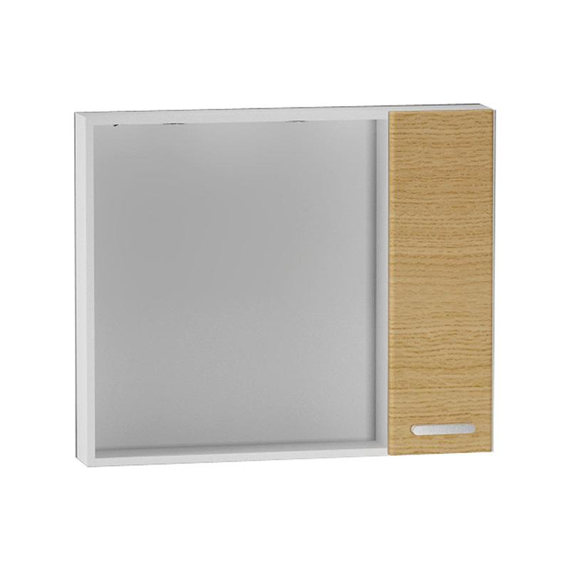Vitra Sono Dolaplı Ayna, 100 cm Yatay Meşe (Sol) 55020 Ayna / Dolaplı Ayna