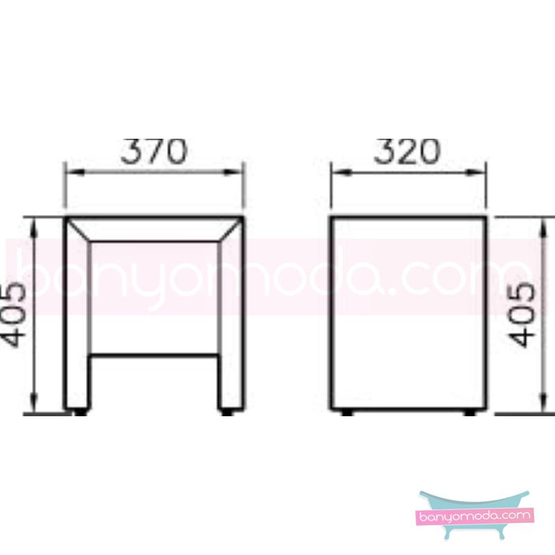 Vitra Espace Sehpa, Kızıl Ceviz - 51224 asma doğal kaplama kübik hacimlerin  yuvarlak formlarla iç içe geçtiği esnek tasarımlı banyo mobilyası en uygun fiyatlarla Banyomoda'dan online satın alabilirsiniz.