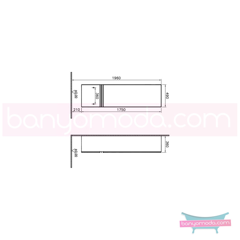 Vitra Espace Boy Dolabı (Sol), Kızıl Ceviz - 51787 asma doğal kaplama kulplu yavaş kapanır kübik hacimlerin  yuvarlak formlarla iç içe geçtiği esnek tasarımlı banyo mobilyası en uygun fiyatlarla Banyomoda'dan online satın alabilirsiniz.