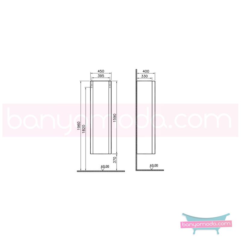 Vitra Mod Boy Dolabı (Sol), Parlak Beyaz - 51977 asma lake kaplama yavaş kapanır kulpsuz modern tasarımı zarafetle bütünleyen Ross Lovegrove un çok özel koleksiyonudan en uygun fiyatlarla Banyomoda'dan online satın alabilirsiniz.
