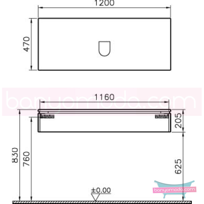 Vitra System Fit Lavabo Dolabı, (Sığ), 120 cm, Parlak Beyaz, Shift Kulp - 53370 asma termoform kaplama kulplu yavaş kapanır çekmeceli vitra'nın tasarım ve teknoloji gücü banyo mobilyalarında sonsuz seçenek yaratıyor en uygun fiyatlarla Banyomoda'dan online satın alabilirsiniz.