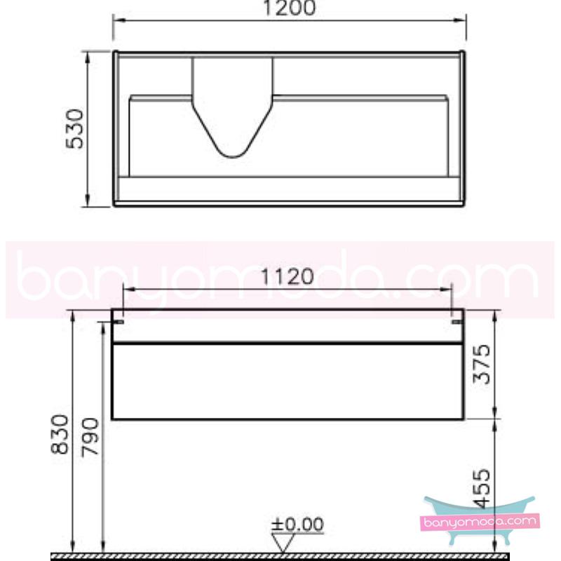 Vitra System Fit VS-75 Solidli Lavabo Dolabı Sol Hazneli, Parlak Beyaz, Bel Kulp - 53865 asma termoform kaplama kulplu yavaş kapanır çekmeceli vitra'nın tasarım ve teknoloji gücü banyo mobilyalarında sonsuz seçenek yaratıyor en uygun fiyatlarla Banyomoda'dan online satın alabilirsiniz.
