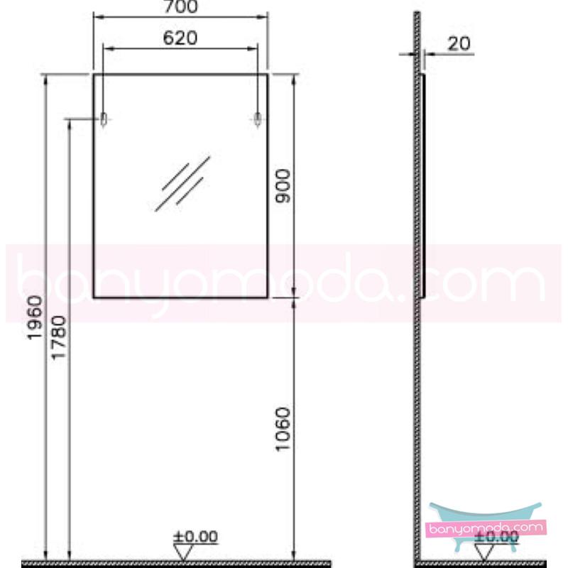Vitra Form 500+ Düz Ayna, 70 cm, Meşe - 52077 asma farklı ölçülerdeki depolama üniteleri sayesinde, özellikle aile banyolarına yönelik ideal bir çözüm en uygun fiyatlarla Banyomoda'dan online satın alabilirsiniz.