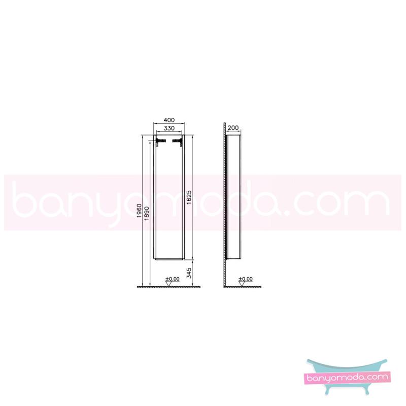 Vitra System Fit Boy Dolabı (Gardırop) (Sağ), Gri Meşe - 54296 asma termoform kaplama yavaş kapanır vitra'nın tasarım ve teknoloji gücü banyo mobilyalarında sonsuz seçenek yaratıyor en uygun fiyatlarla Banyomoda'dan online satın alabilirsiniz.