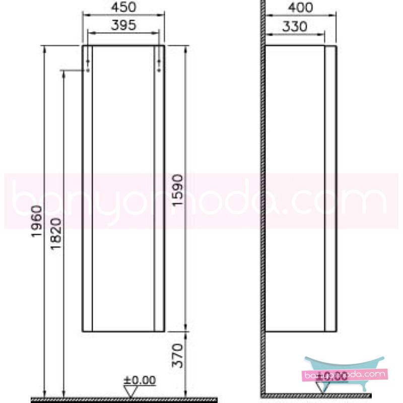 Vitra Mod Boy Dolabı (Sağ), Parlak Beyaz - 51978 asma lake kaplama yavaş kapanır kulpsuz modern tasarımı zarafetle bütünleyen Ross Lovegrove un çok özel koleksiyonudan en uygun fiyatlarla Banyomoda'dan online satın alabilirsiniz.