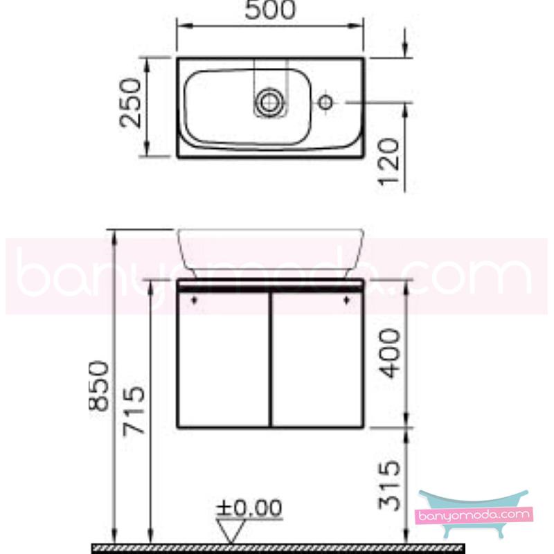 Vitra Shift Kayar Kapaklı Lavabo Dolabı, Parlak Zebrano - 52509 asma termoform kaplama büyük banyo alanlarına ekleyeceğiniz ek ünitelerle banyonun fonksiyonelliği arttırın en uygun fiyatlarla Banyomoda'dan online satın alabilirsiniz.
