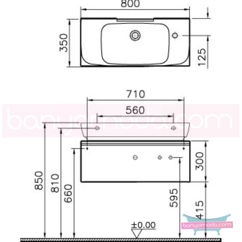 Vitra Shift Dar Lavabo Dolabı (Sığ), 80 cm, Antrasit - 52522 asma termoform kaplama kulplu yavaş kapanır çekmeceli büyük banyo alanlarına ekleyeceğiniz ek ünitelerle banyonun fonksiyonelliği arttırın en uygun fiyatlarla Banyomoda'dan online satın alabilirsiniz.