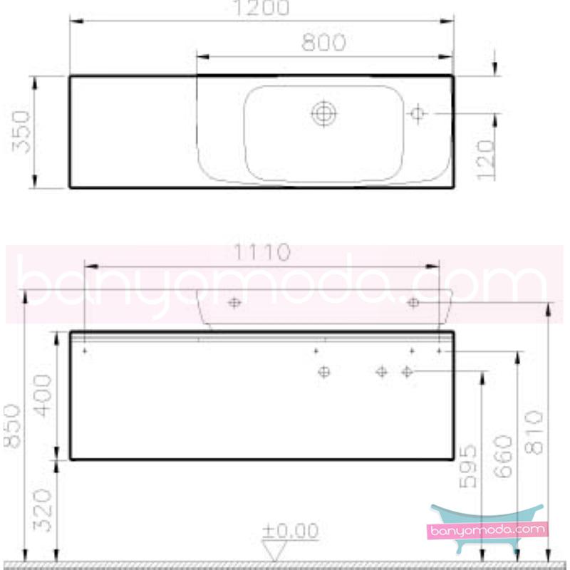 Vitra Shift Asimetrik Dar Lavabo Dolabı (Derin), (Sağ), 120 cm, Zebrano - 52543 asma termoform kaplama kulplu yavaş kapanır çekmeceli büyük banyo alanlarına ekleyeceğiniz ek ünitelerle banyonun fonksiyonelliği arttırın en uygun fiyatlarla Banyomoda'dan online satın alabilirsiniz.
