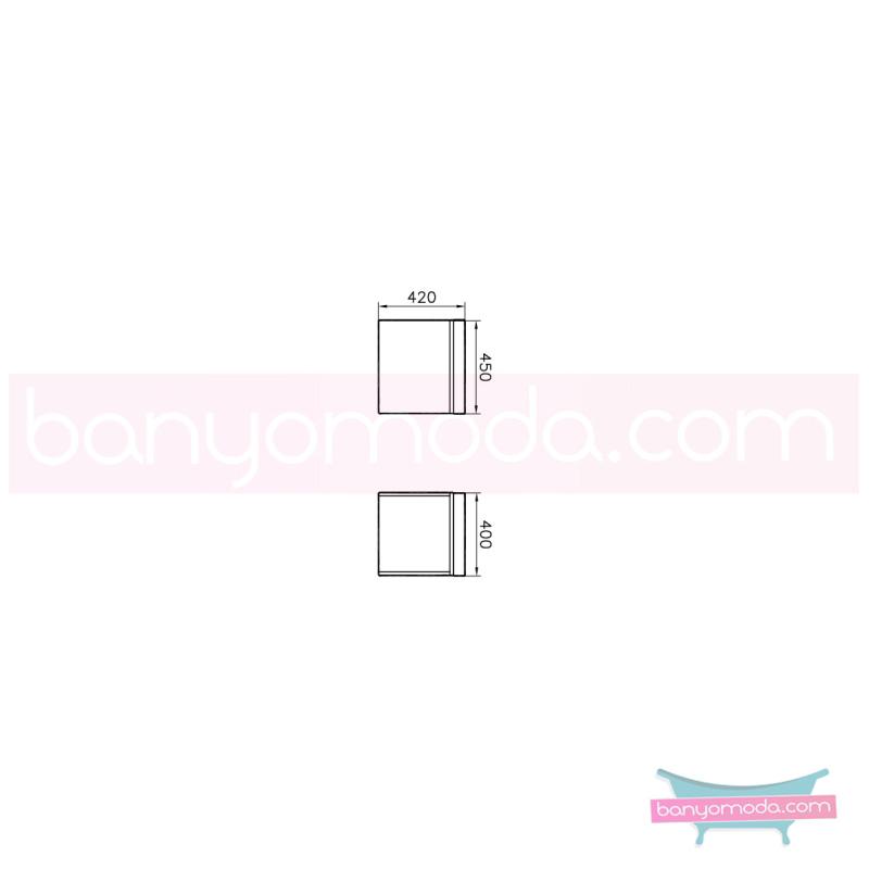 Vitra System Fit Tekerlekli Ünite, 45 cm, Gri Meşe - 53972 yerden termoform kaplama vitra'nın tasarım ve teknoloji gücü banyo mobilyalarında sonsuz seçenek yaratıyor en uygun fiyatlarla Banyomoda'dan online satın alabilirsiniz.